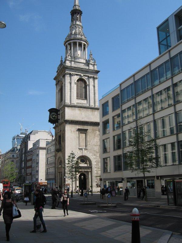 Near St Mary Le Bow Church Cheapside 1630 42